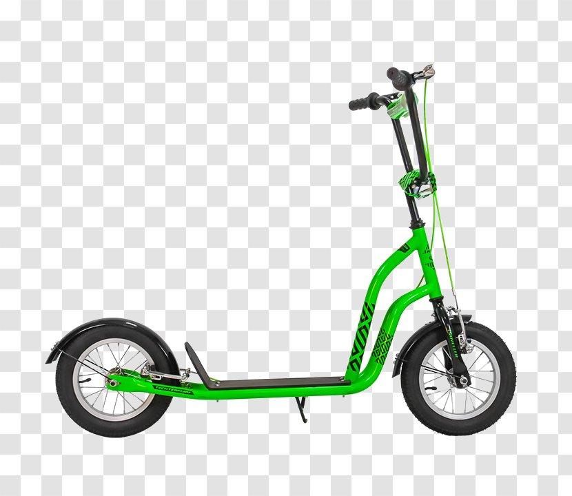 Kick Scooter Bicycle Wheel Trikke BMX Bike - Motor Vehicle Transparent PNG