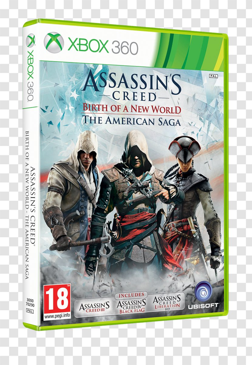Assassin S Creed The Americas Collection Creed Iii Liberation Iv