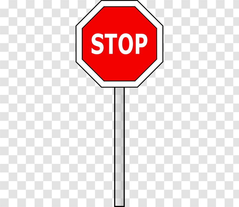 Stop Sign Clip Art Logo Warning - Cartoon Bullying Transparent PNG