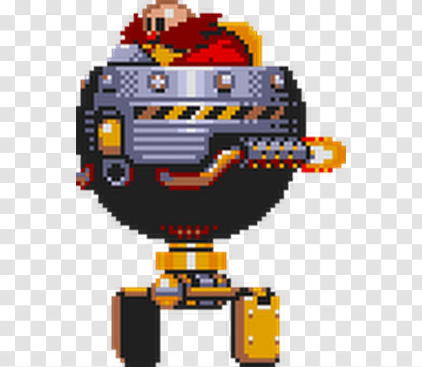 Sonic The Hedgehog 3 Doctor Eggman Metal Mania Sprite Nave Transparent Png