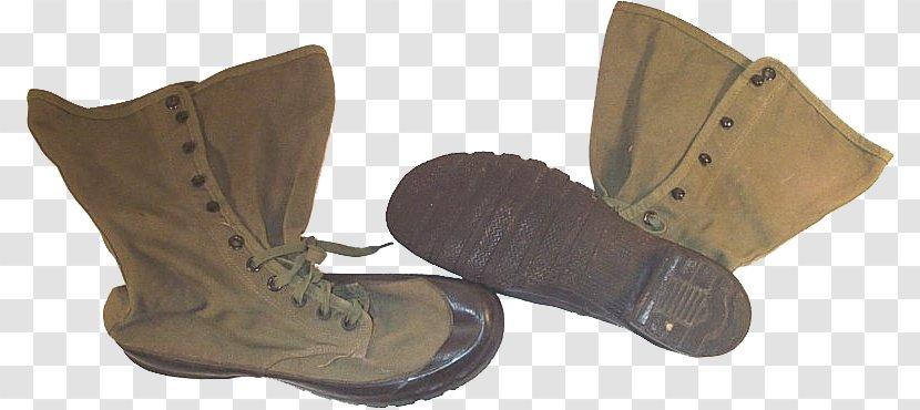 Jungle Boot Shoe Dress Combat - Saran - Army Transparent PNG
