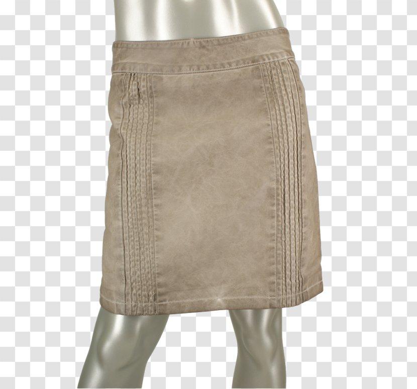 Miniskirt Khaki Waist - Beige - Rino Transparent PNG