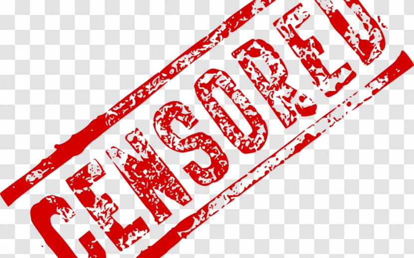 Censorship Logo Internet Brand Copyright - Area - Censored Transparent PNG