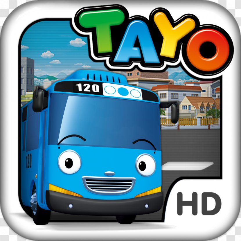 Bus Baraha Tayo Driving Game Android Application Package Transparent Png