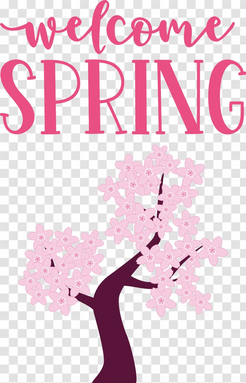 Welcome Spring Spring Transparent PNG