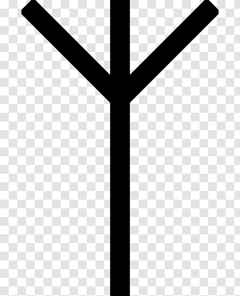 Anglo Saxon Runes Algiz Elder Futhark Old Norse Bind Rune Mythology Transparent Png