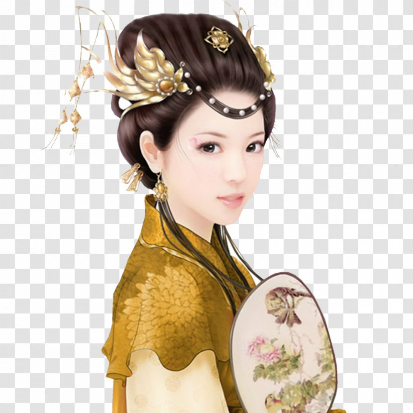 Xi Shi China United States Four Beauties Spring And Autumn Period - Ancient  Vintage Beauty. Transparent PNG