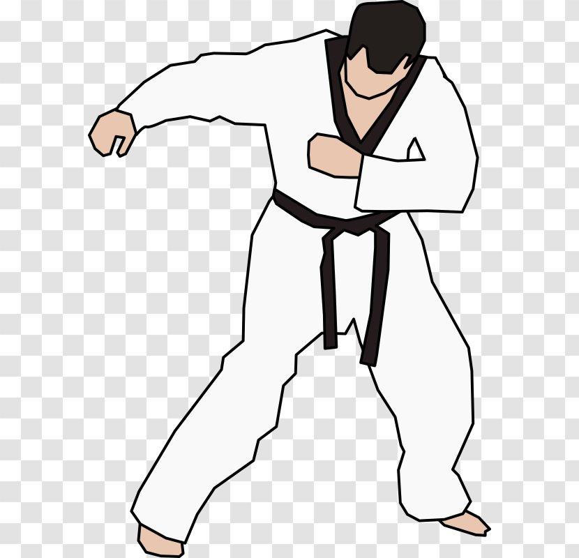 Taekwondo Martial Arts Karate Clip Art Area Exercise Transparent Png