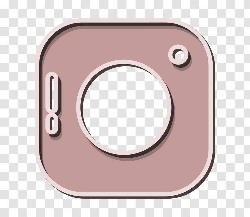 Camera Icon Instagram Logo Pink Transparent Png