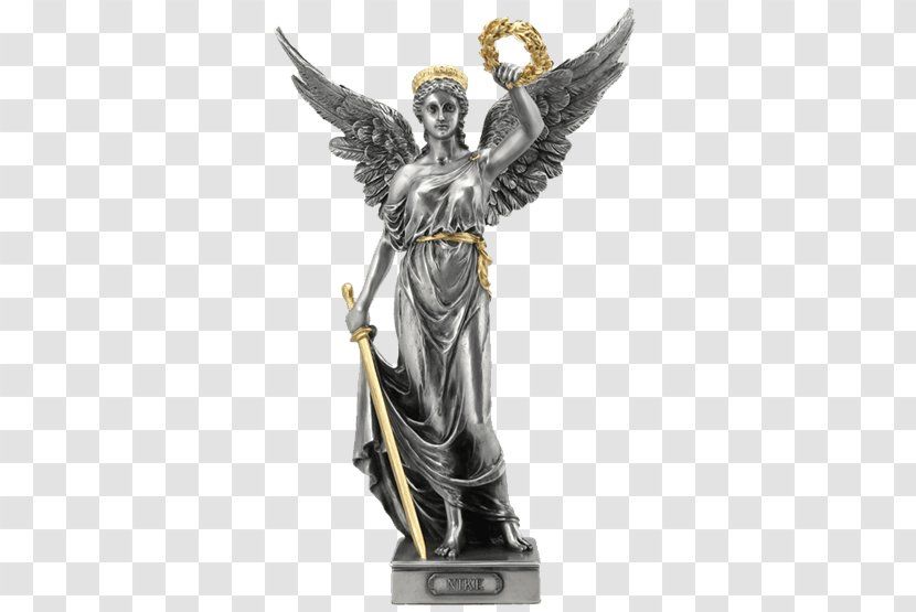 Caramelo Armada Eh  Winged Victory Of Samothrace Ancient Greece Nike Greek Mythology Goddess -  Bronze Transparent PNG