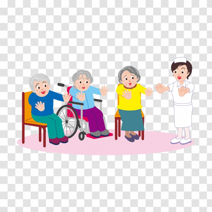 Clip Art Vector Graphics Nursing Home Health Care Elderly Transparent Png