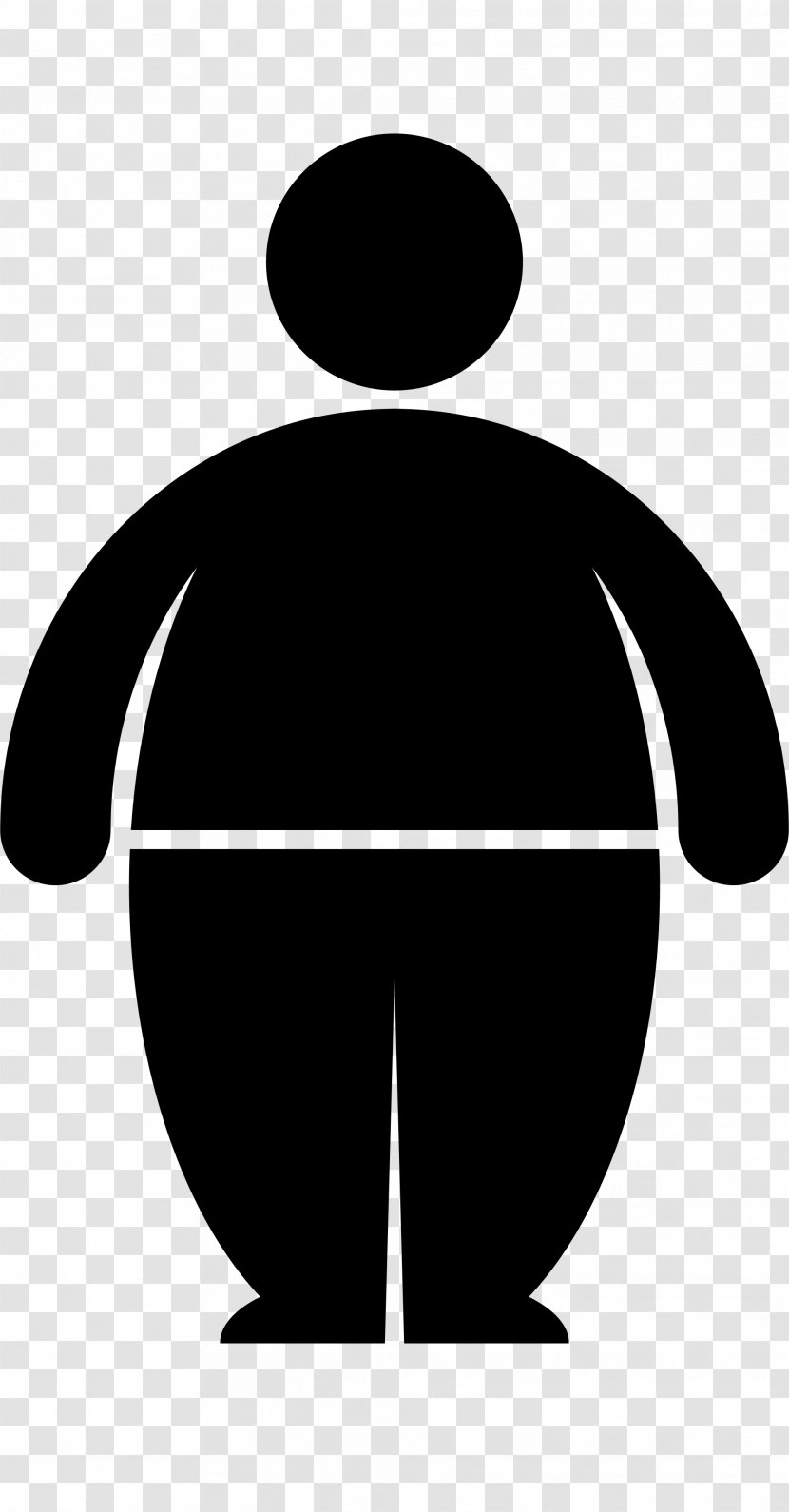Childhood Obesity Overweight Joint Fat Man Transparent Png