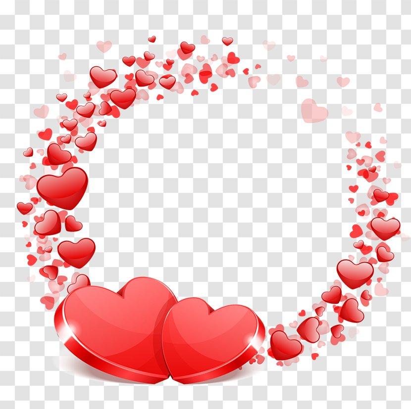 Wedding Valentine's Day Heart Wish - Pattern - Love Transparent PNG