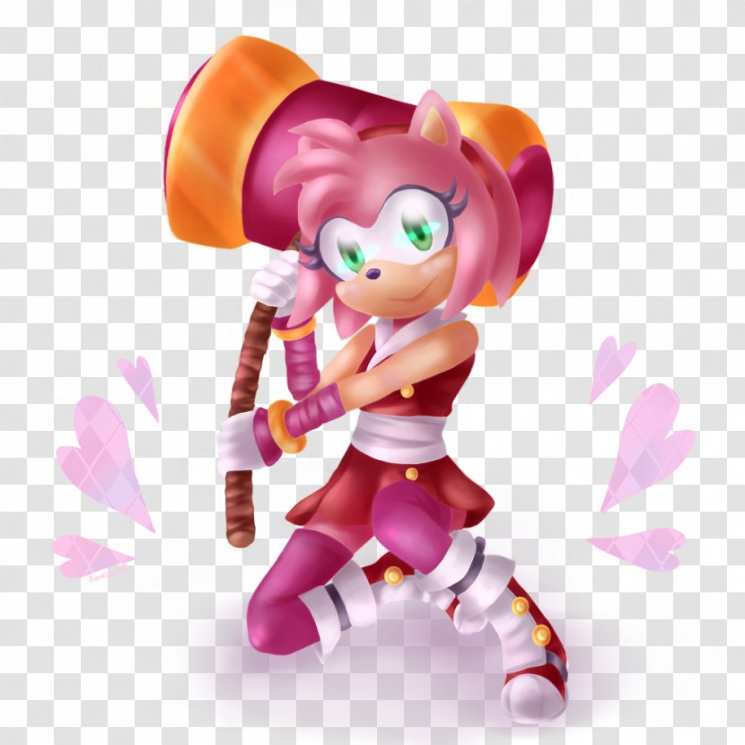 Amy Rose Sonic The Hedgehog Sticks Badger Boom Rise Of Lyric Mighty Armadillo Rascal Transparent Png