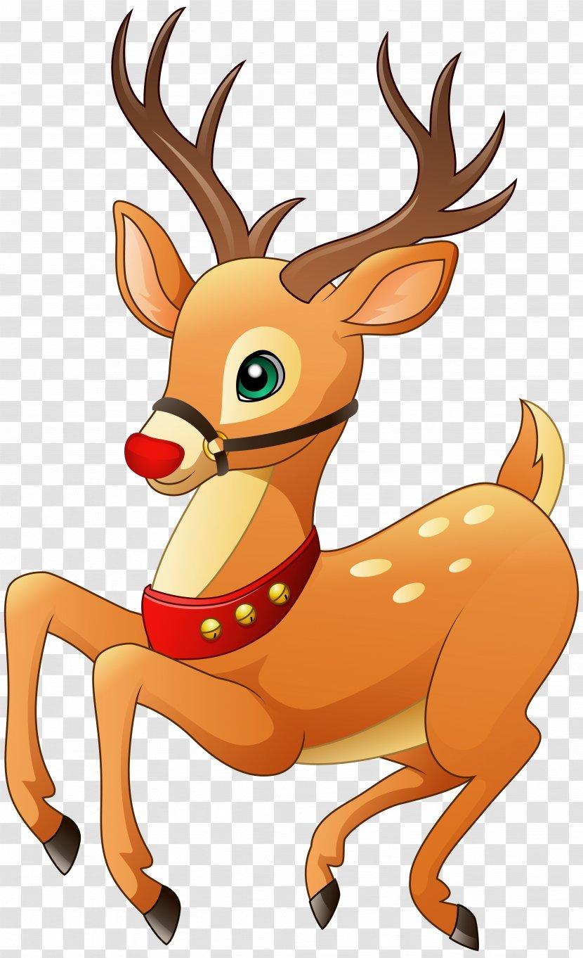 Download Png - Reindeer Clipart (#4496256) - PinClipart