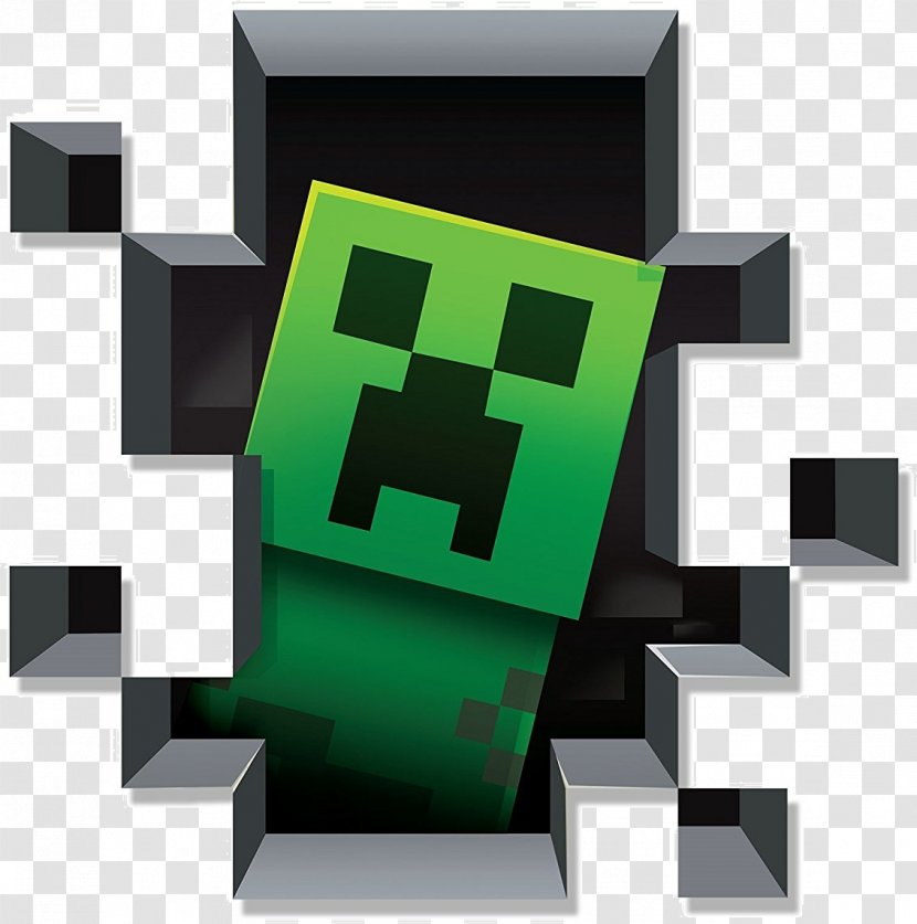 Minecraft Wall Decal Sticker Video Game - Creeper Transparent PNG