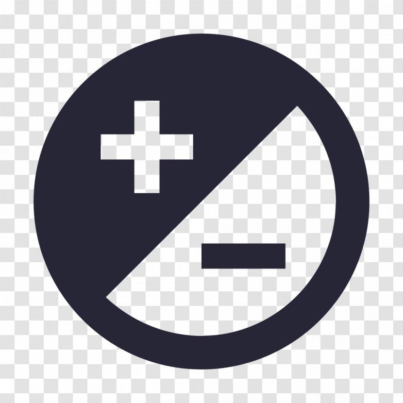 Plus-minus Sign Plus And Minus Signs Meno - Symbol Transparent PNG