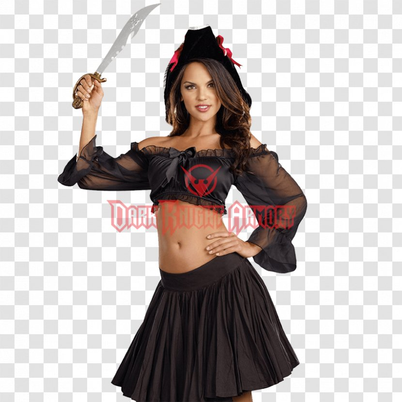 Costume Crop Top Sleeve Clothing - Silhouette - Dress Transparent PNG
