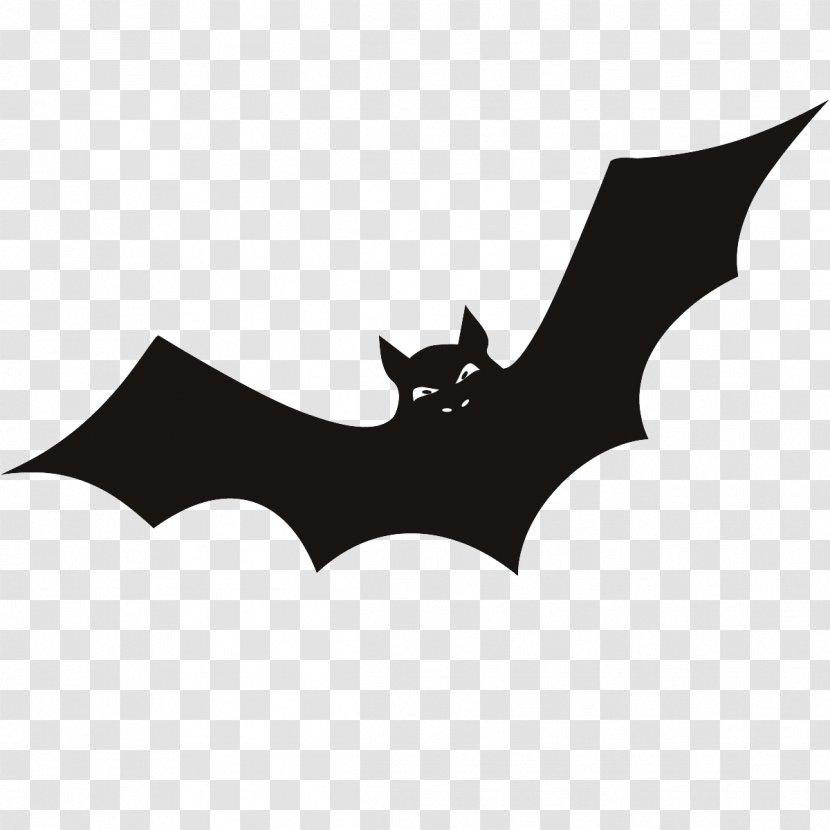 Halloween Candy Corn Clip Art - Silhouette - Bat Transparent PNG