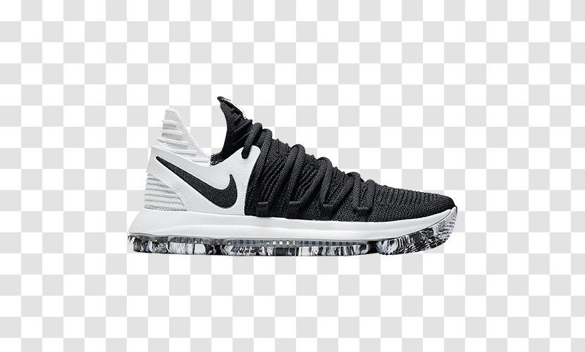 Nike Zoom Kd 10 KD Black White X Boys