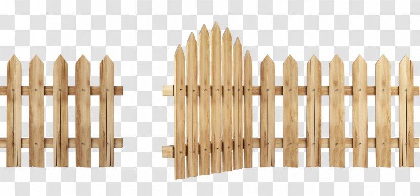 Fence Pickets Clip Art Illustration Image Transparent PNG