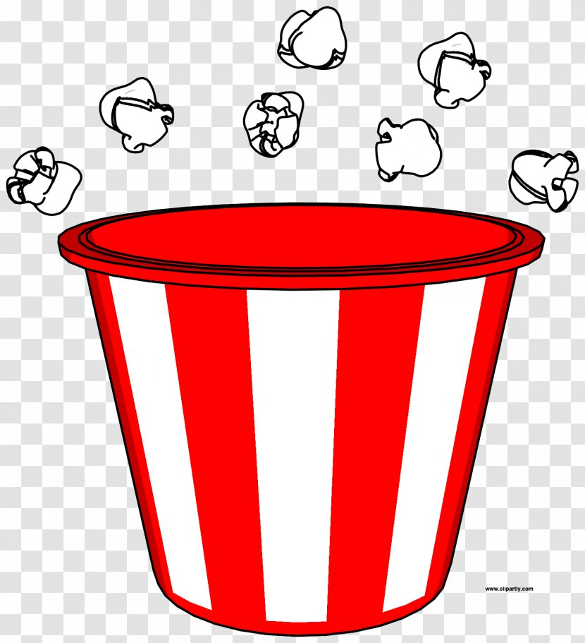 Clip Art Drawing Image Illustration Cartoon Popcorn Bucket Transparent Png