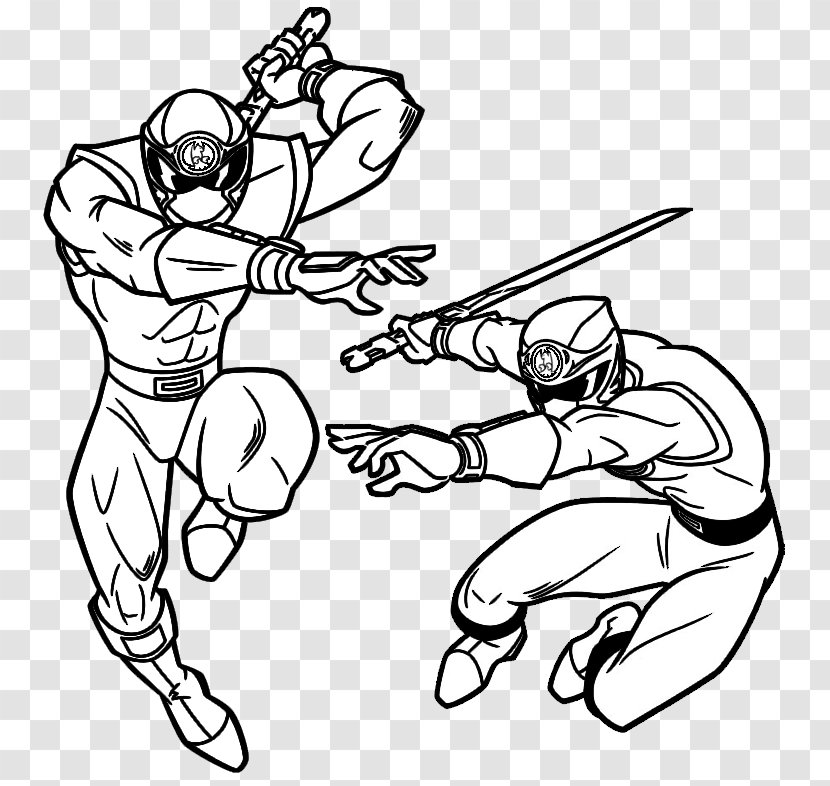 - Drawing Coloring Book Painting Image - Power Rangers Dino Charge  Transparent PNG