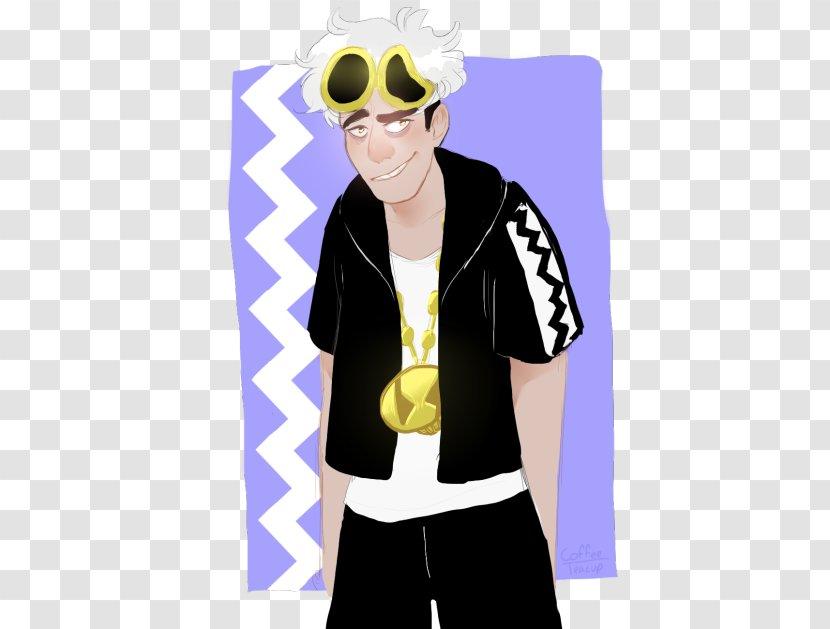 Sunglasses T-shirt Shoulder Cartoon - Neck Transparent PNG