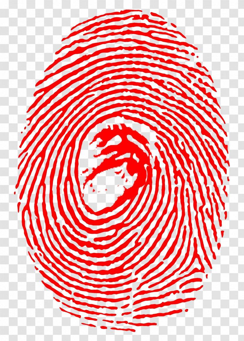 Fingerprint Forensic Science Identification Contamination Thumbprint Sign Detective Giygas Transparent Png