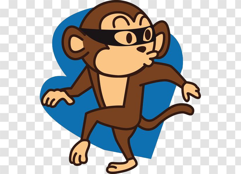 Monkey Photography Euclidean Vector Illustration - Thief Transparent PNG