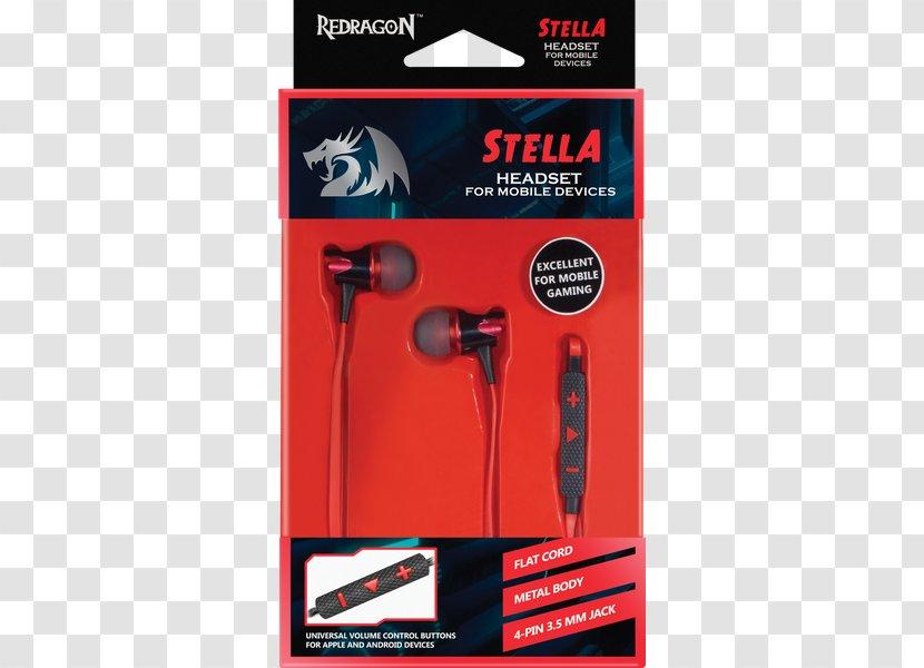 Microphone Computer Cases & Housings Headset Headphones Redragon Transparent PNG