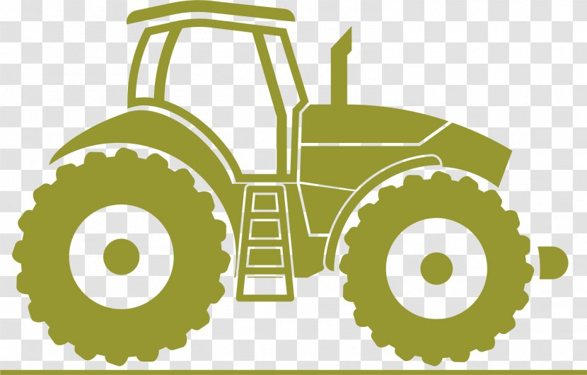Tractor Agriculture Agricultural Machinery Icon Transparent PNG