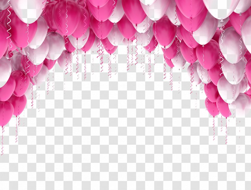 white flower party balloon stock photography