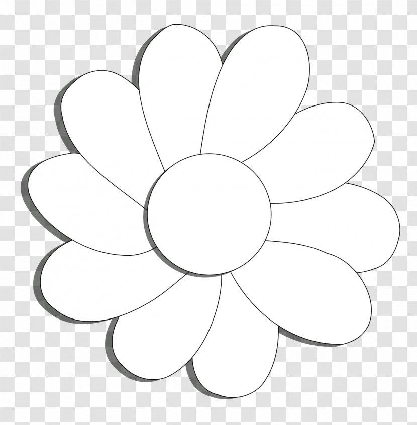 Daisy Flower Outline Flat Icon On White Stock Vector - Illustration of  internet, flat: 123552567
