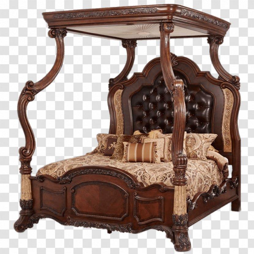 Bedside Tables Canopy Bed Bedroom Furniture Sets Antique Transparent Png