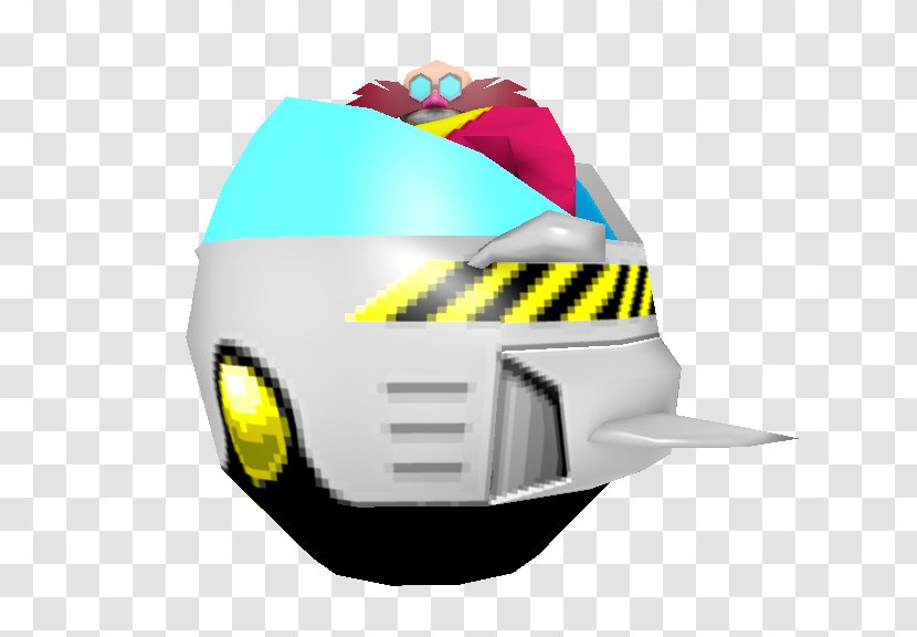 Doctor Eggman Low Poly Pixel Art Sonic The Hedgehog Sprite Yellow Transparent Png