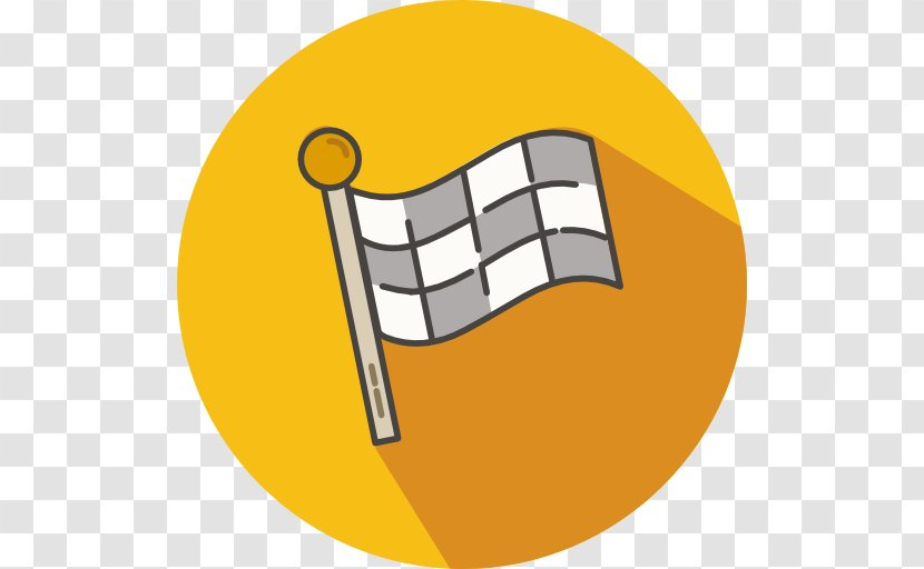 Clip Art - Yellow - Race Flag Transparent PNG