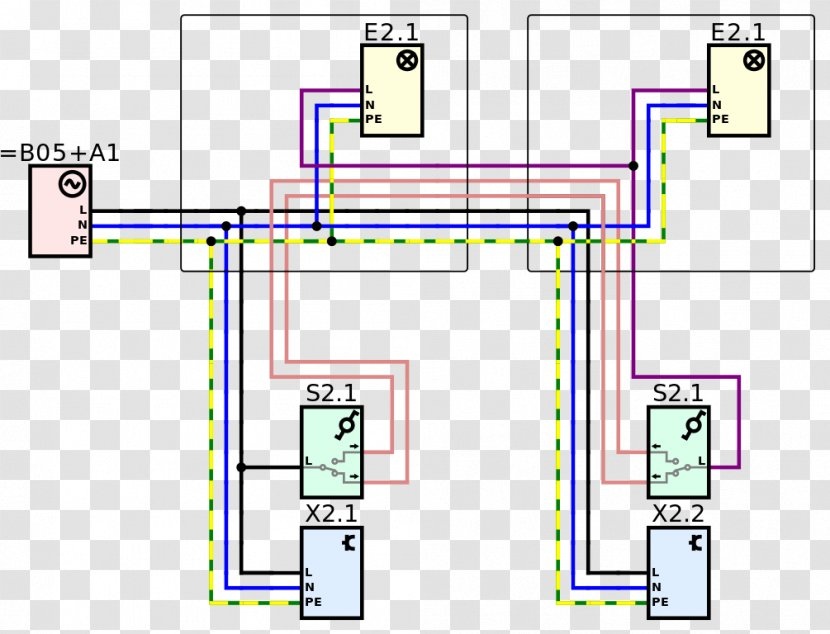 Wiring Diagram Electrical Wires Cable Circuit Home Pignout Transparent Png