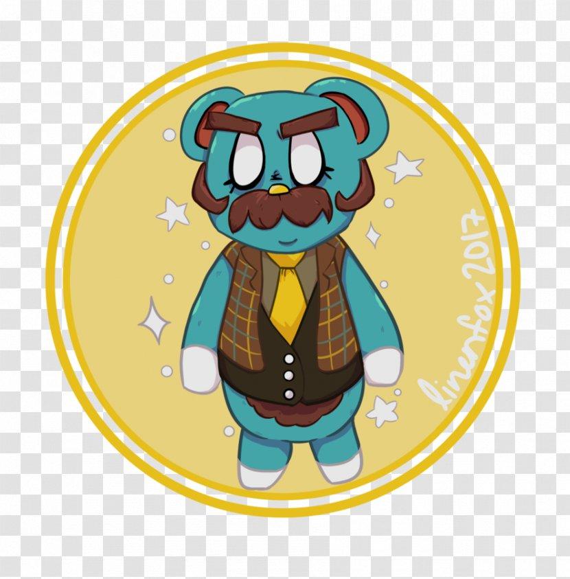 Cartoon Animal Character - Fictional - Crossing New Leaf Fan Art Transparent PNG