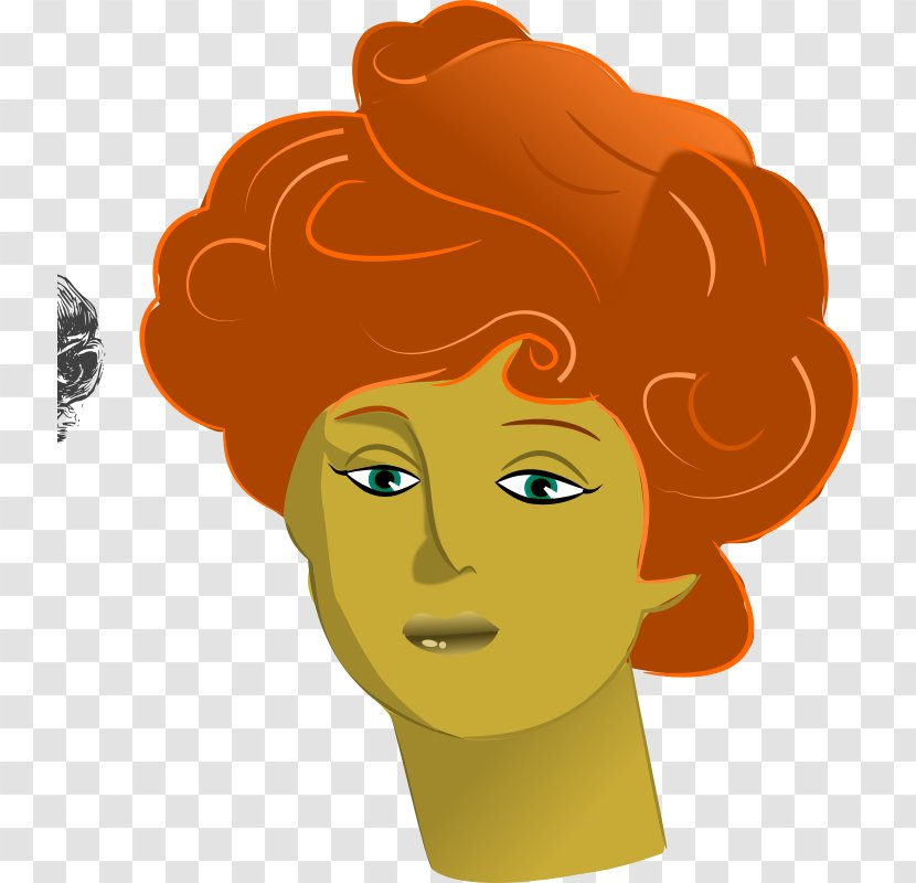 Smile Clip Art - Hairstyle Transparent PNG