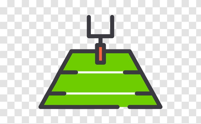 American Football Field Pitch Goal Stadium - Area Transparent PNG