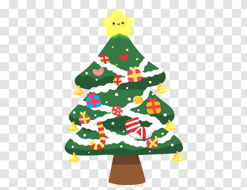 christmas tree drawing cartoon floating transparent png christmas tree drawing cartoon