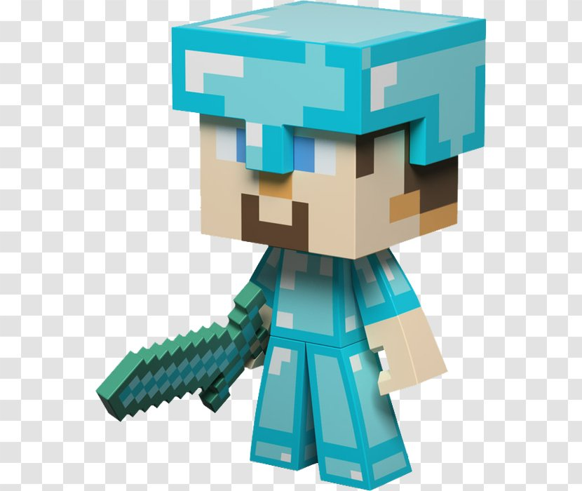 Minecraft Mods Video Game Mojang Jinx Action Toy Figures Steve