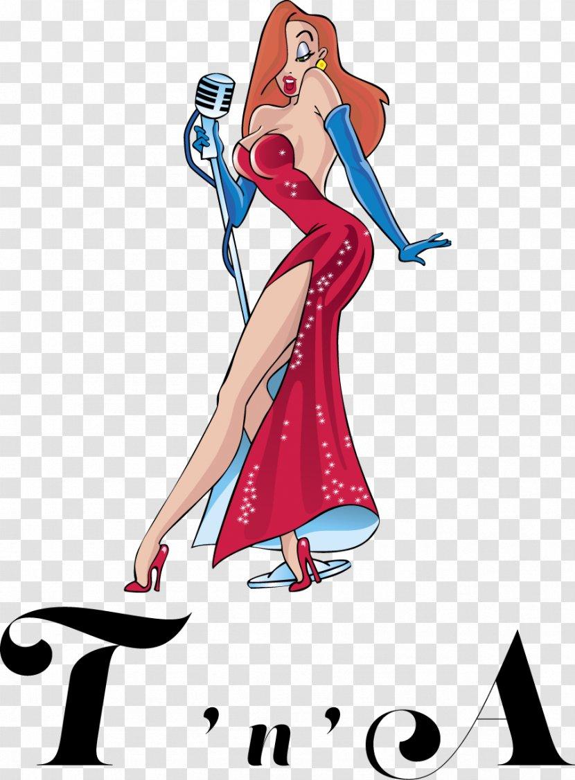 Jessica Rabbit Who Censored Roger Rabbit? - Flower - Alba Transparent PNG