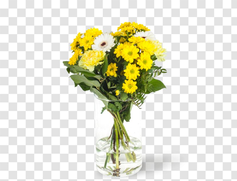 Floral Design Cut Flowers Vase Flower Bouquet Greet The Spring Transparent Png