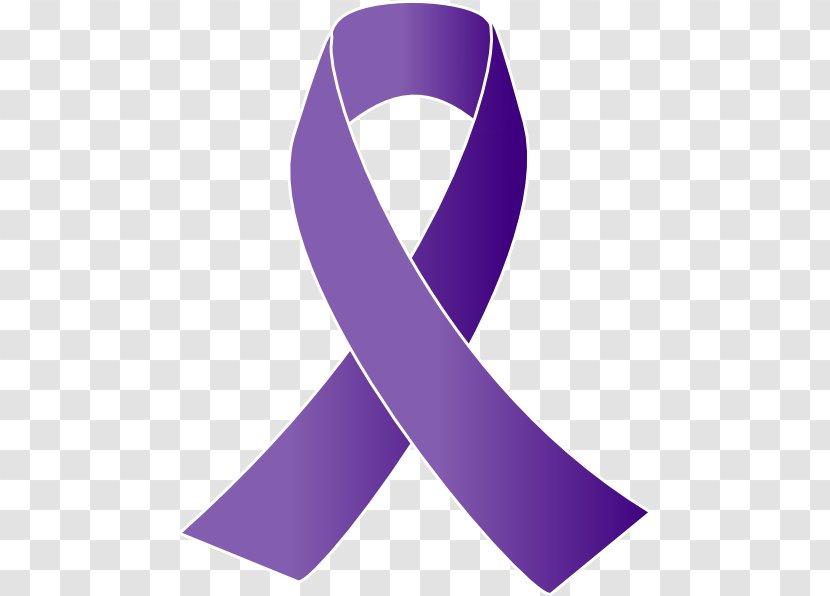 Cancer Awareness Ribbon Purple Clip Art Necktie Free Vector Transparent Png