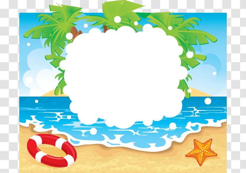 Beach Clip Art Borders