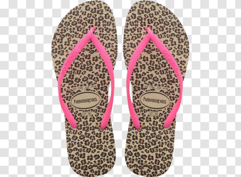 havaianas slim animal print flip flops