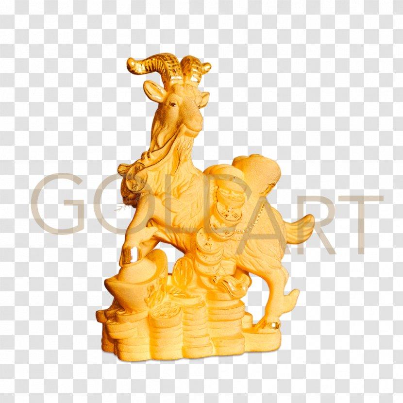 Giraffe Statue Mighty Goat Figurine - Art - Abundance Illustration Transparent PNG