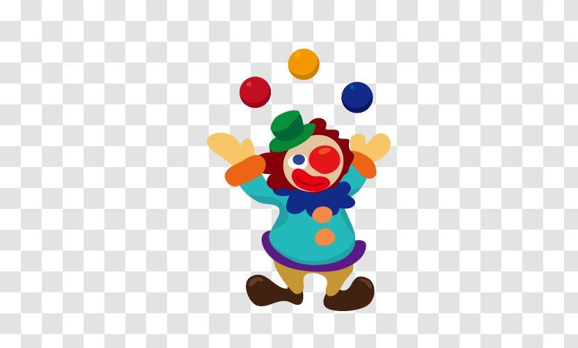 Circus Cartoon Clown Transparent PNG